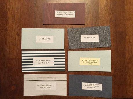 Affirmation Cards #5