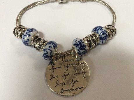 Learn, Live, Hope Bracelet