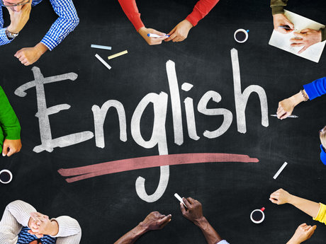 Speak English with you!