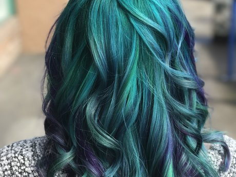 Rainbow/mermaid hair consultation