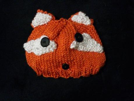 Baby's Fox Hat
