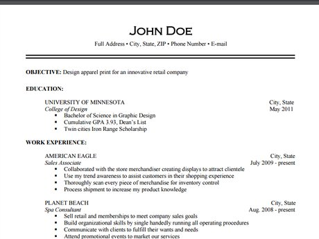 Cover Letter and Resume Editing