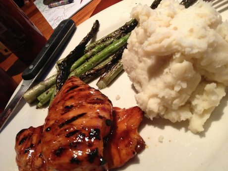 BBQ Chicken and Mashed P