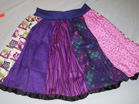 Sew a Skirt For a Girl