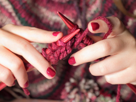 Knitting lessons for begginer