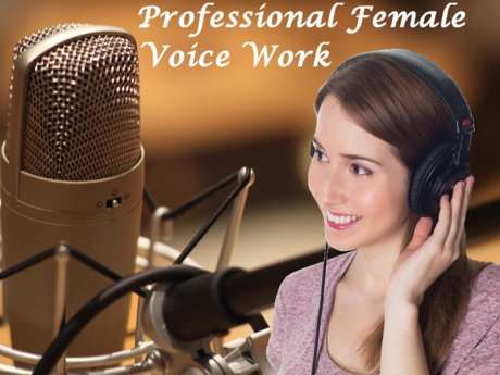 Record a voice over in English!