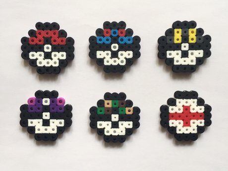 Perler Bead Pokéball Set