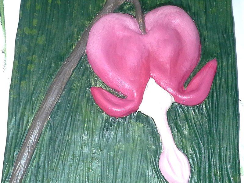 Bleeding Heart Wall Art Shawna Barnes Simbi