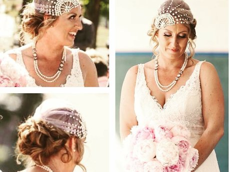 Special occasion hair styling