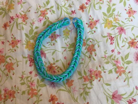 Sea Foam Rubber Bracelet