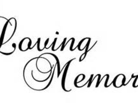 """In Memory of"" Vinyl Decals"