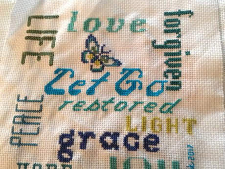 6x6 Word Cross-Stitch Pattern pdf