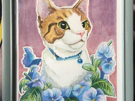 Watercolor Portrait/Illustration