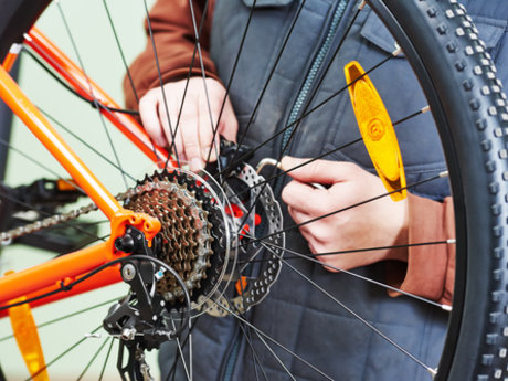 Teach you to repair your bike!