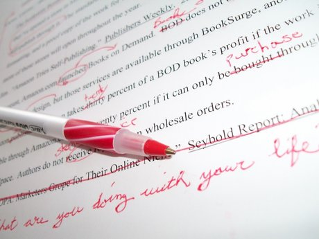 Proofreading and editing, english