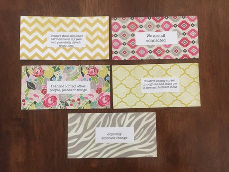 Leotie Collection Affirmation Cards