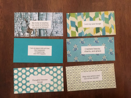 Tuwa Collection Affirmation Cards