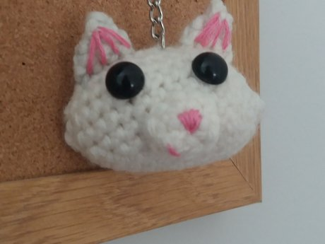 Kitty-cat keychain