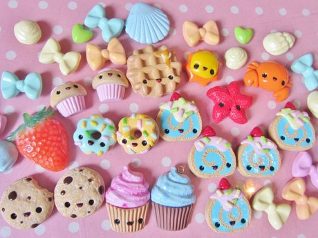 Kawaii Resin & Polymer Clay Charms