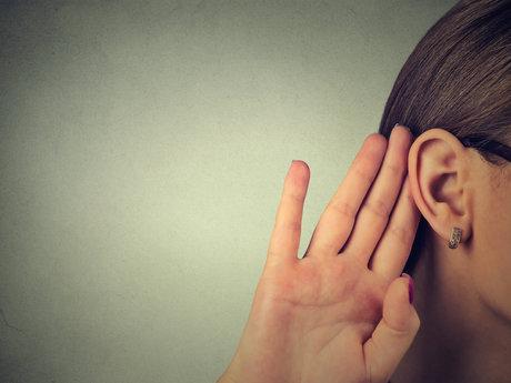 A listening ear.
