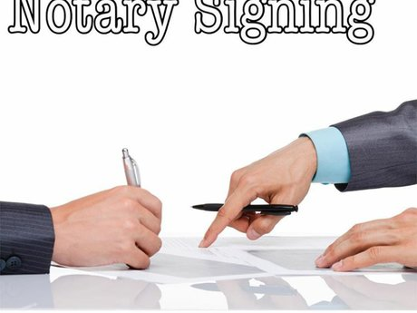 Notary signings