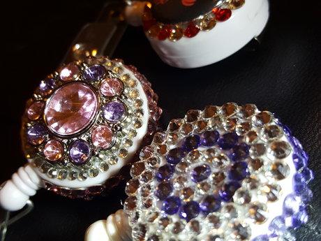 Swarovski Crystal Badge Reels