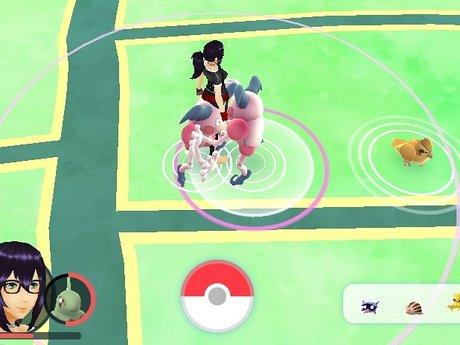 Pokémon go rare  catches & level up