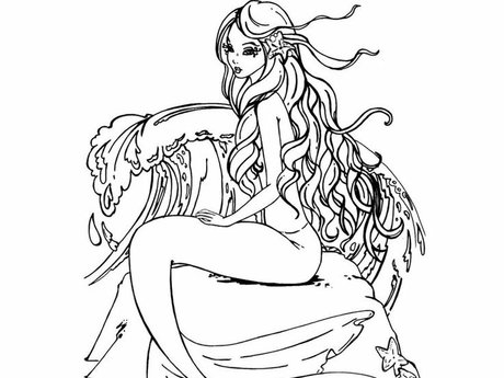 Costum Coloring Page!