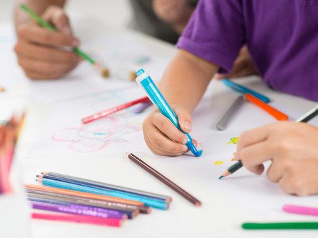 Art lessons for children