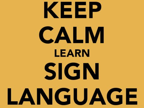 ASL- American Sign Language Classes