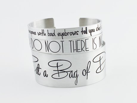 Custom Engraved Cuff Bracelet