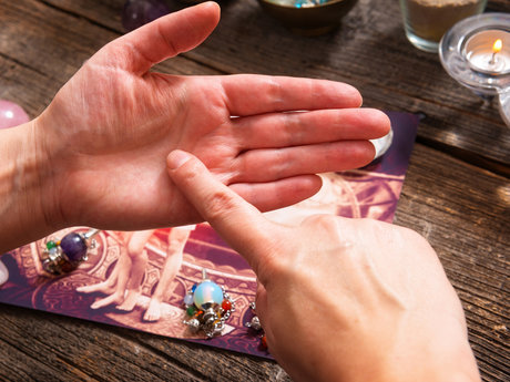 Psychic Palm reading