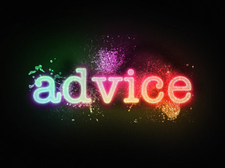 I can help with advice!