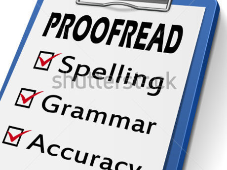 Document/Book Proofreading