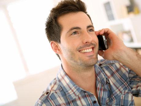 30 minute phone call.