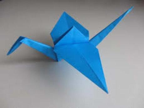Origami Bird Tutor