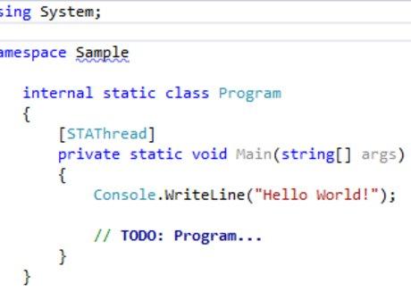 C# Coding Lessons