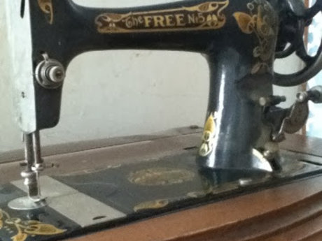 Give info about your antique sewing