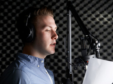 30s Voiceover Recording Package