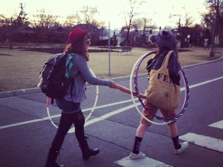 Hula Hoop Dance Teacher