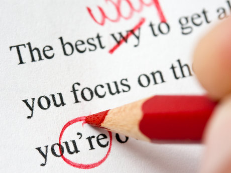 Proofread and edit documents