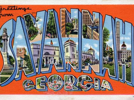 Send You a Postcard from Savannah