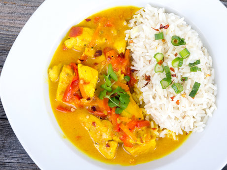 30 Minute Vegan Coconut Curry