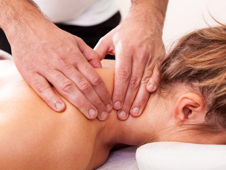15 minute shoulder massage