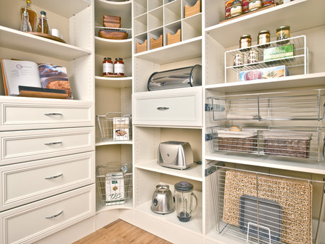 In-home organizational advice