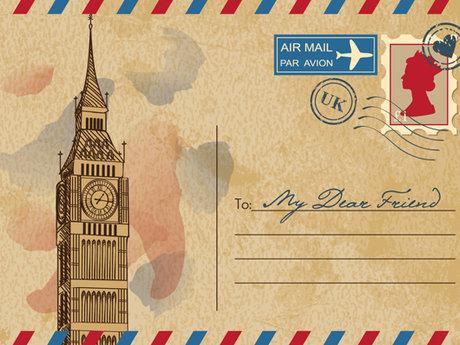 Random postcard