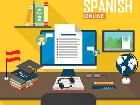 30-minute conversation in Spanish