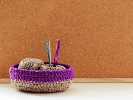 30 min knitting lesson, beginner