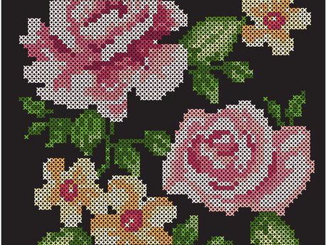 1 hour of cross stitch basics