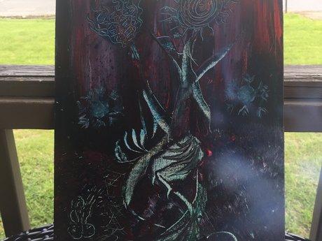 "11x14"" acrylic painting"